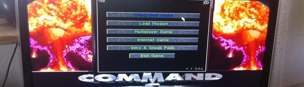 Command & Conquer (1) - Tiberiumkonflikt - Kostenlos für Windows 7 spielbar machen