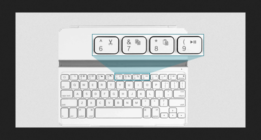 iPad Keyboard Funktionstasten