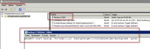 Serverdatensicherung auf NAS unter SBS 2008 und SBS 2011 mit Hilfe von wbadmin.exe und einer Batch-Datei und dem Taskplaner!