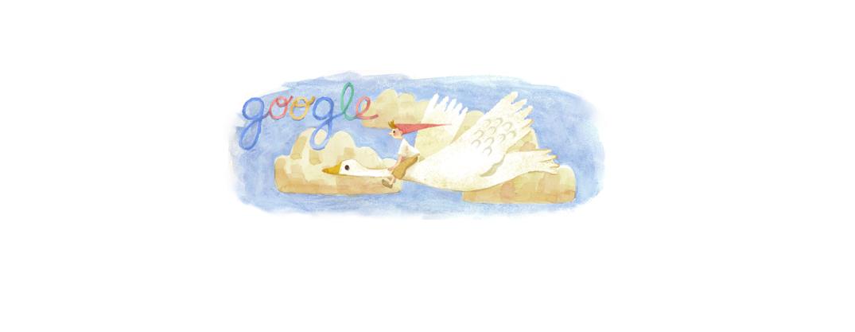 Das Google Doodle Selma Lagerlöf Informationen zu ihrem Geburtstag (20.11.1893)