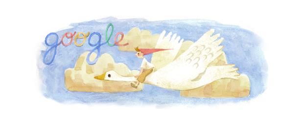 Google Doodle Selma Lagerlöf Informationen zu ihrem Geburtstag (20.11.1893)