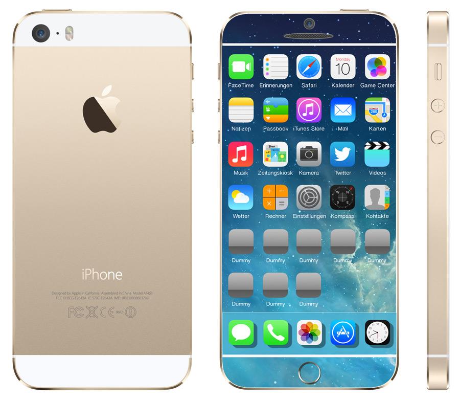 iPhone 6 Designstudie / Design iPhone 6 - iPhone 6 Release in schönem Design