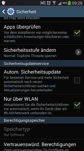 (GELÖST) Android Meldung Eine Anwendung hat versucht ohne Autorisierung auf das System auf Ihrem Gerät zuzugreifen - Sicherheitsinformation