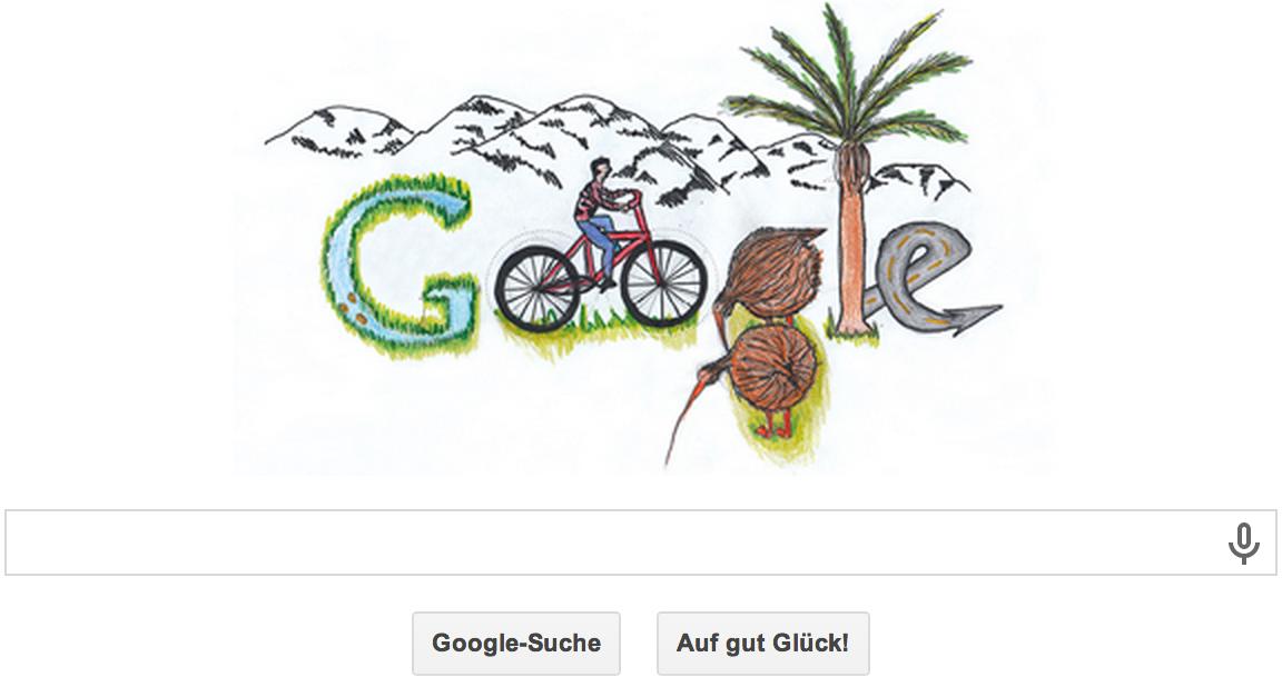 Doodle 4 Google in Neuseeland aus 2013
