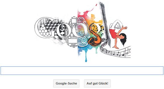 Doodle 4 Google Australia 2013 - Den Google Doodle Wettbewerb für Australien im Jahr 2013 gewinnt die Hornsby Girl High School aus New South Wales