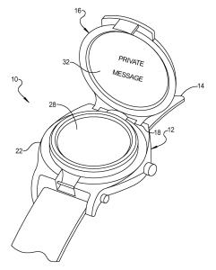 Smartwatch von Google - das Konzept