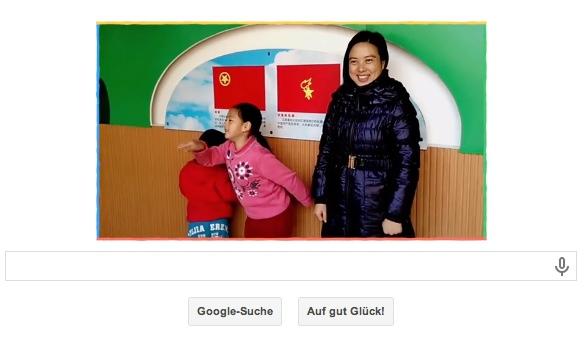 Google Doodle Einzelbilder des Videos zum Weltfrauentag der jedes Jahr am 08.03. gefeiert wird.