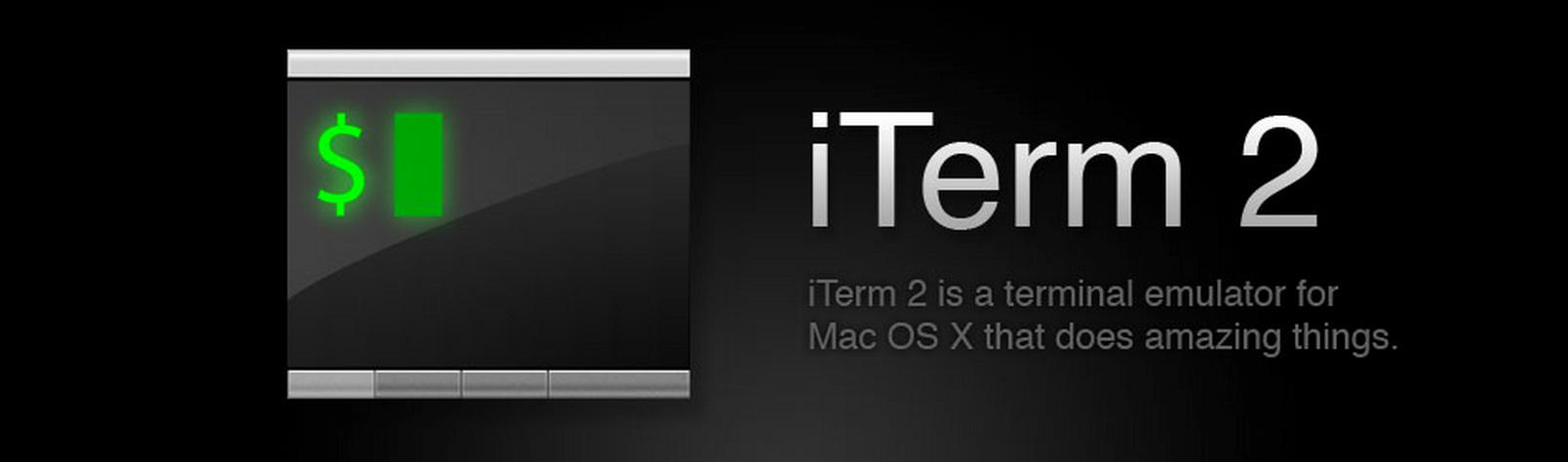 iTerm 2 Mac OS X Download für schnelleres Arbeiten, auch multilingual