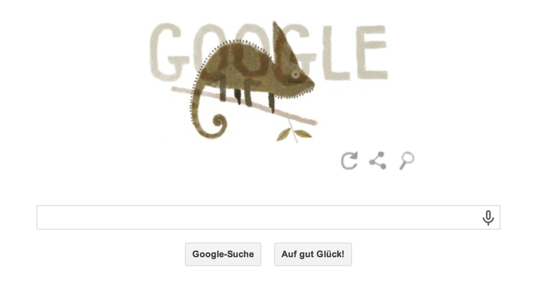 Tag der Erde bei Google wie immer mit schönen Images