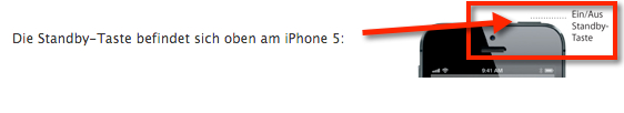 iPhone 5 Taste defekt? In Apples Austauschprogramm wird dir dieses Problem kostenlos gelöst.