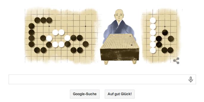 Google Doodle Honinbo Shusaku - Nach ihm wurde die Shūsaku-Eröffnung benannt. Das war im 19. Jahrhundert. Noch bis ins 20. Jahrhundert wurde diese Eröffnung gespielt!