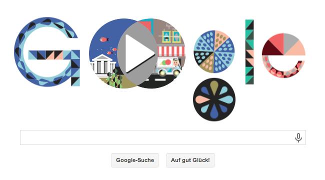 Google Doodle zu John Venn's 180. Geburtstag