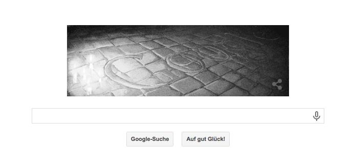 Google Doodle zu 25 Jahren Leipziger Montagsdemonstrationen