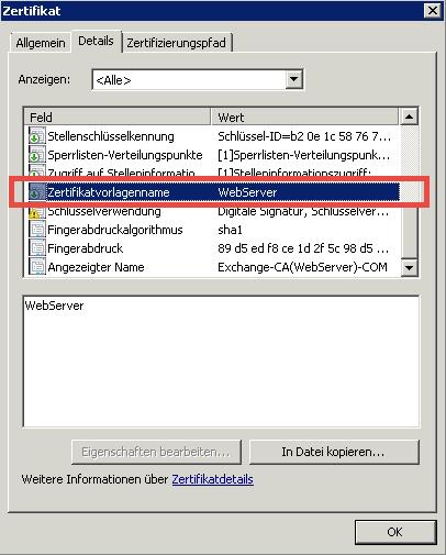 Exchange Server Zertifikat abgelaufen