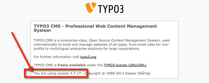 Die Typo3 Version herausfinden ist wirklich einfach. Sie wird dir in Typo3 gleich an mehreren Stellen angezeigt. Hier zeige ich dir wo du das findest!