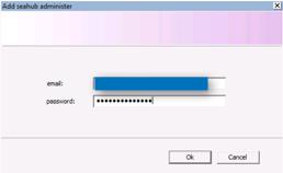 Dropbox Alternative Seafile Server einrichten - Hier legen wir den Adminaccount fest