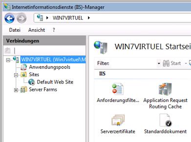 Dropbox Alternative Seafile Server einrichten - Bitte auf Serverzertifikate doppelklicken