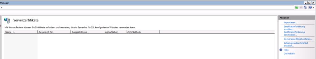 Dropbox Alternative Seafile Server einrichten - Ein Selbstsigniertes Zertifikat erstellen
