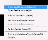 Dropbox Alternative Seafile Server einrichten - Config-Dateien von Seafile anpassen