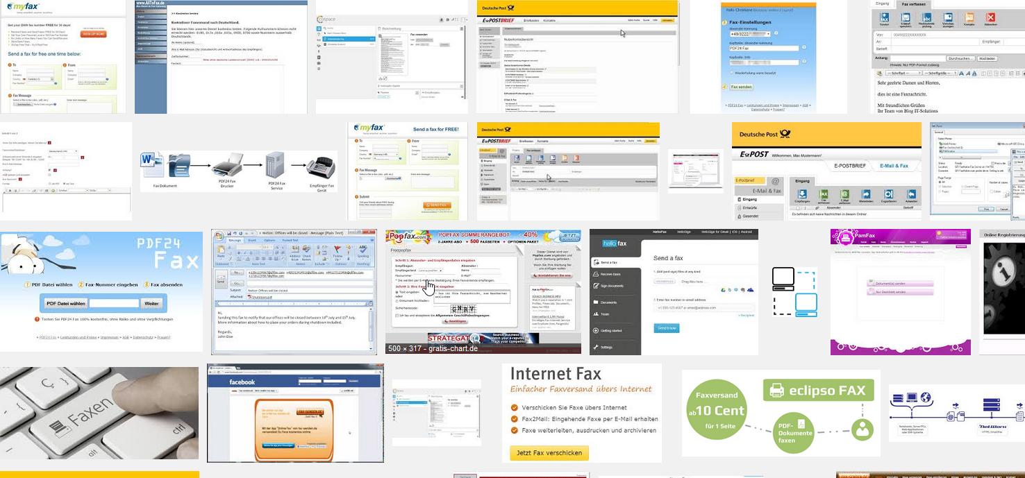 Der Fax online-Dienst ist meistens kostenlos. Dennoch gibt es Unterschiede vor allem im Funktionsumfang und beim Empfang von online Fax