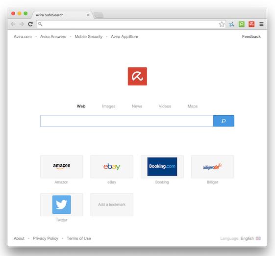 Das neue Avira Browser Design Layout in der Beta-Phase. Sieht doch toll aus! Bildrechte: Avira