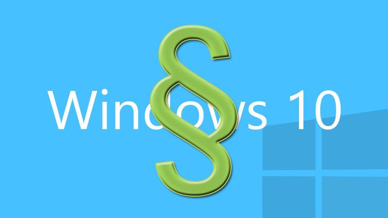 Windows 10 Datenschutz Einstellungen anpassen