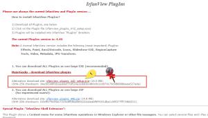 EXIF Daten ändern mit Irfan View PlugIns