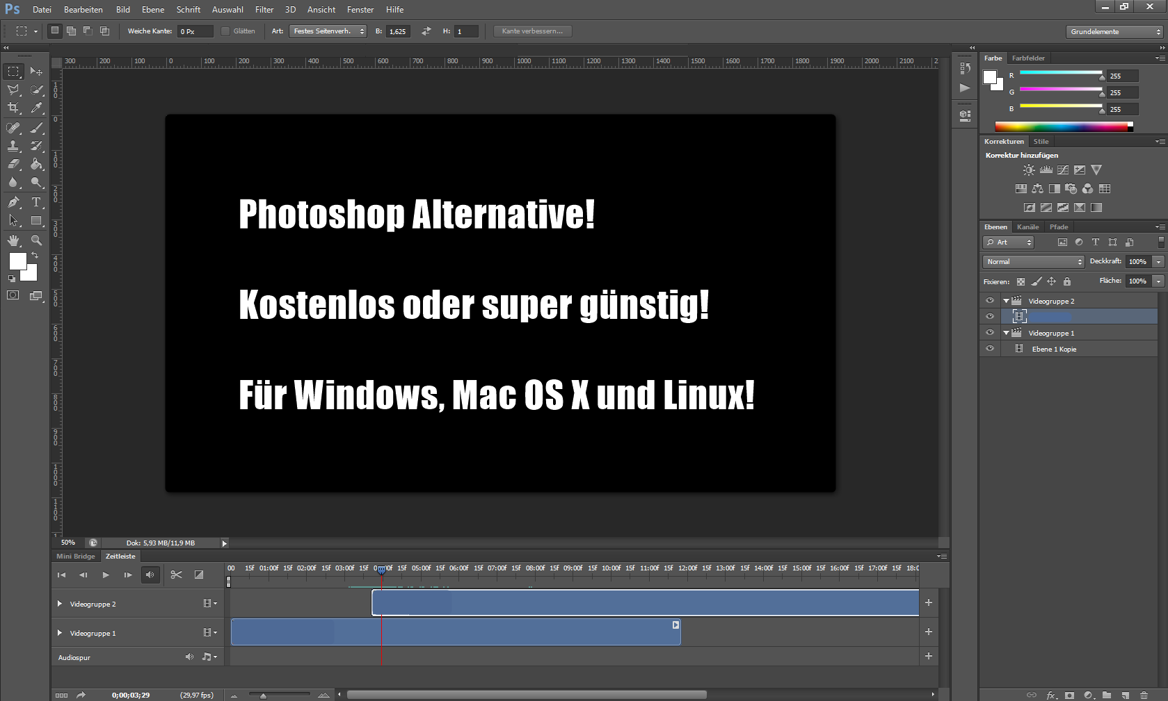 Photoshop Alternative kostenlos