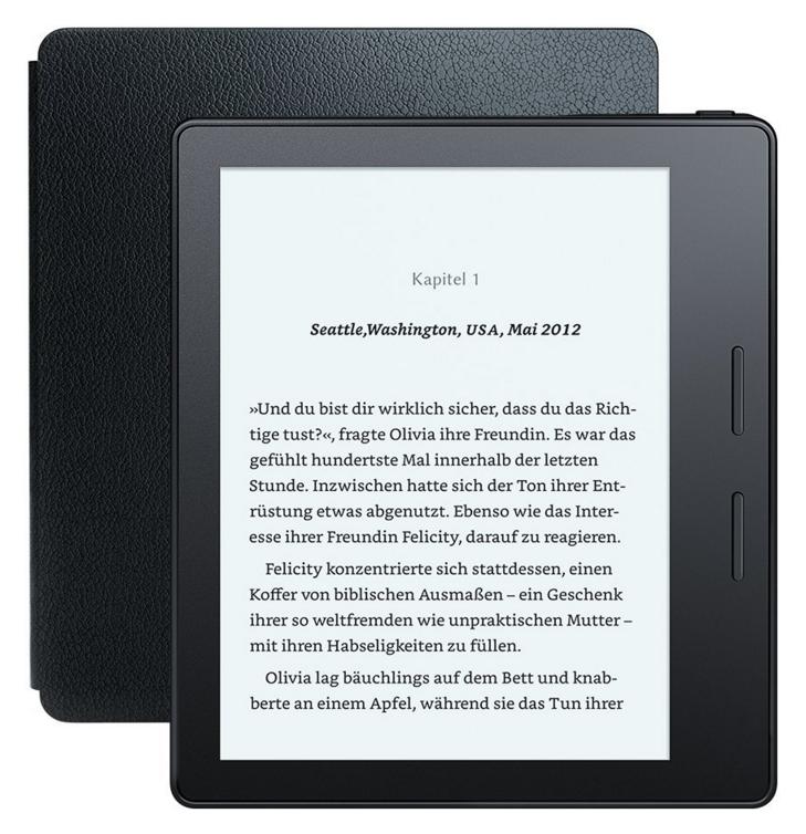 Der Kindle Oasis ist Amazons neuester eReader