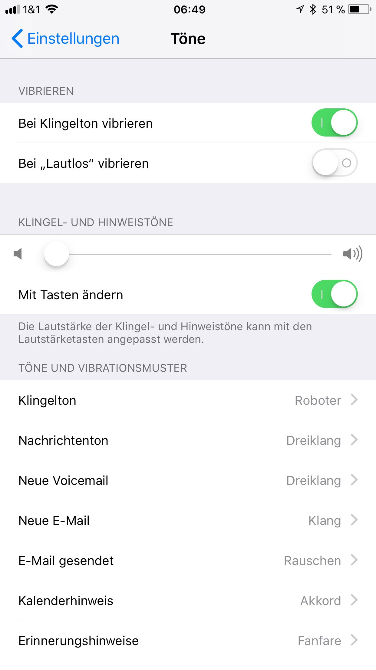 iphone x wecker ton ändern