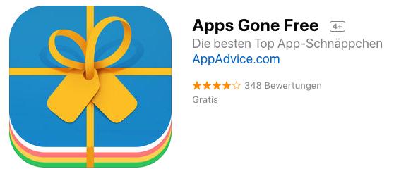 Apps gone free - Kostenlose iOS Apps