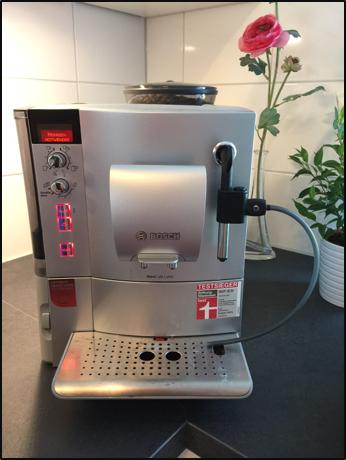 Bosch Kaffeevollautomat TES 50351DE/15 reinigen und entkalken Anleitung (Calc'N'Clean)