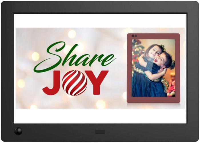 Tolles Weihnachtsgeschenk oder Geschenk im Allgemeinen: Der NIX Advanced digitale Bilderrahmen!