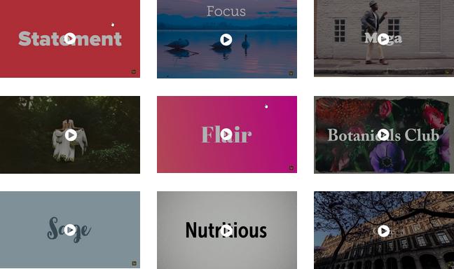 Kostenlose Video Intros erstellen